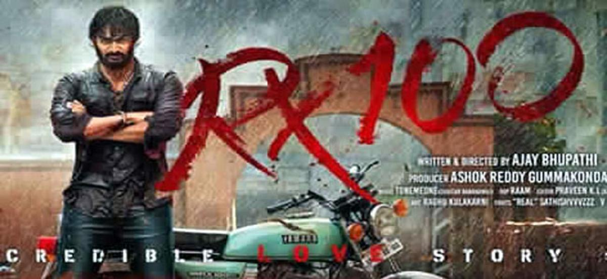 RX 100 Two Days Box Office Collections Report
