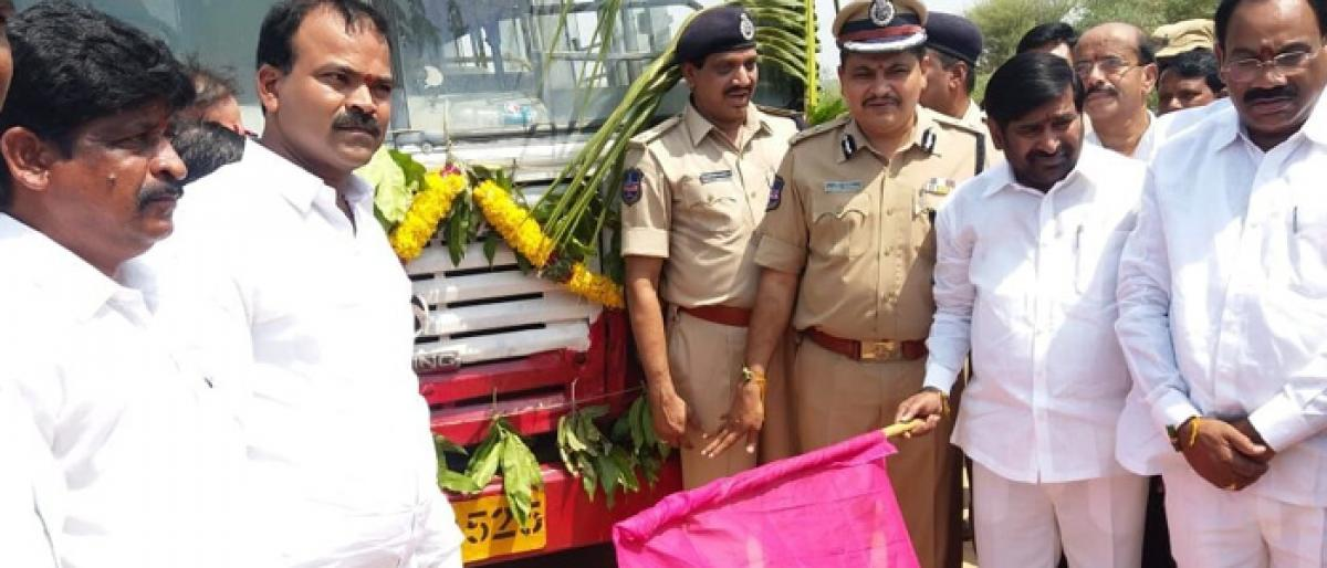 Bus service to thands of Rachakonda launched