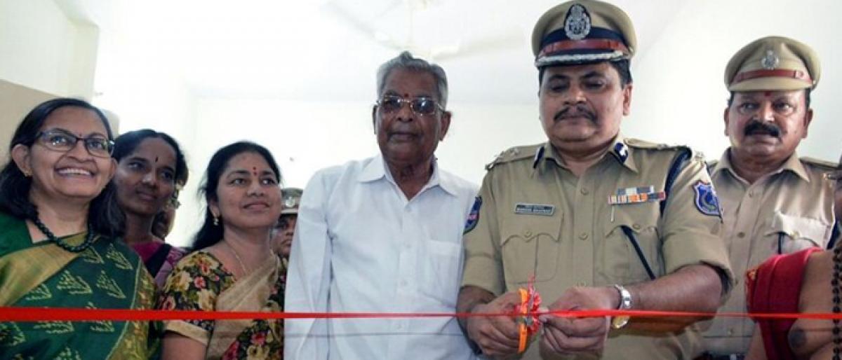 CCTV control centre inaugurated at Yadagirigutta police station