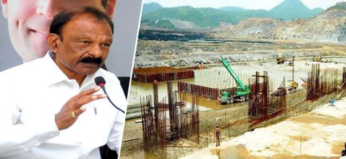 Polavaram project will not complete In Near Future?