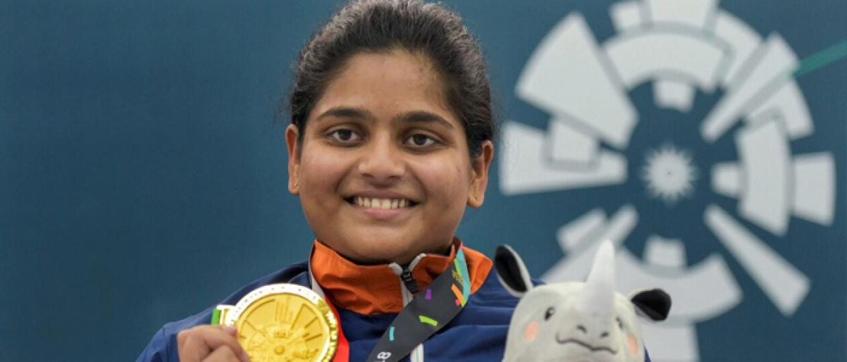 Rahi first Indian woman to shoot Asiad gold