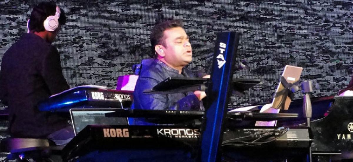 A.R. Rahman gets encore on Tamil song in New York