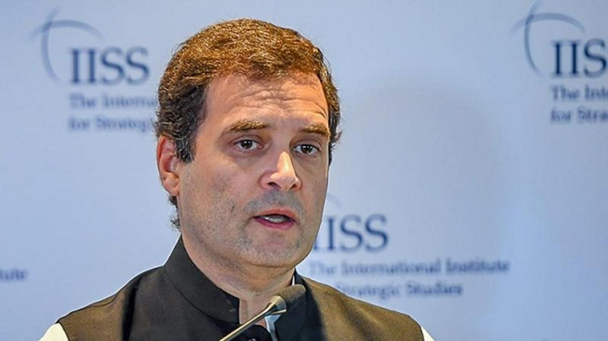RSS idea similar to Islamist group Muslim Brotherhood, says Rahul in UK