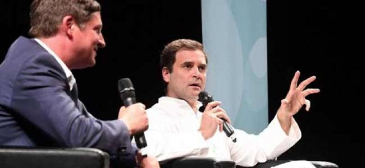 Rahul Gandhi blames joblessness, noteban, GST for lynchings in India