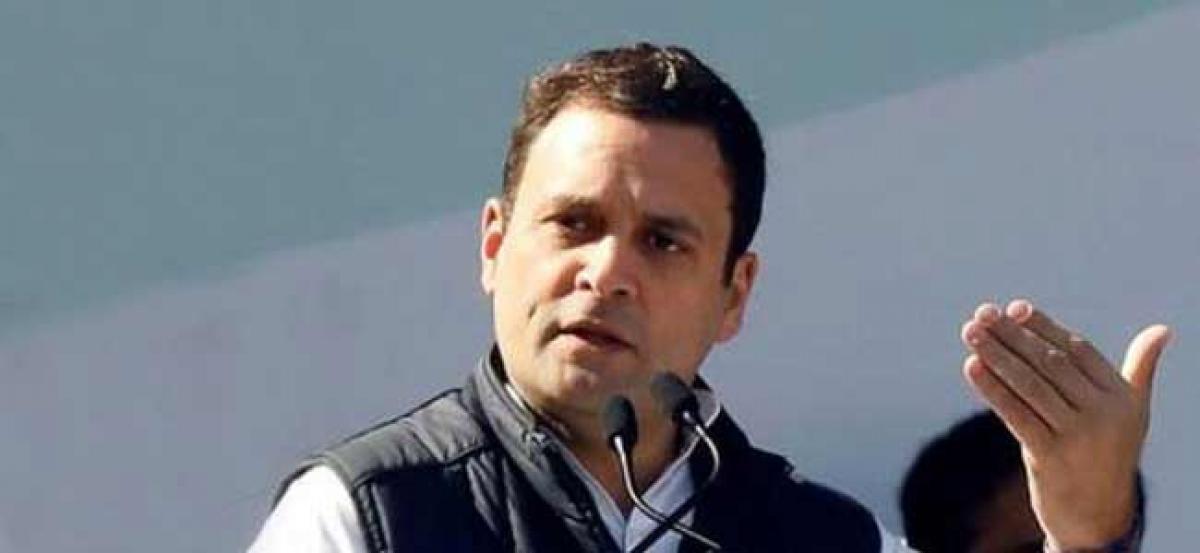 Rahul Gandhi says RSS idea relevant to Muslim Brotherhood
