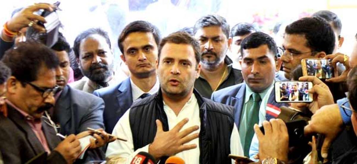 PM Modis Gross Divisive Politics (GDP) has hit economy: Rahul Gandhi