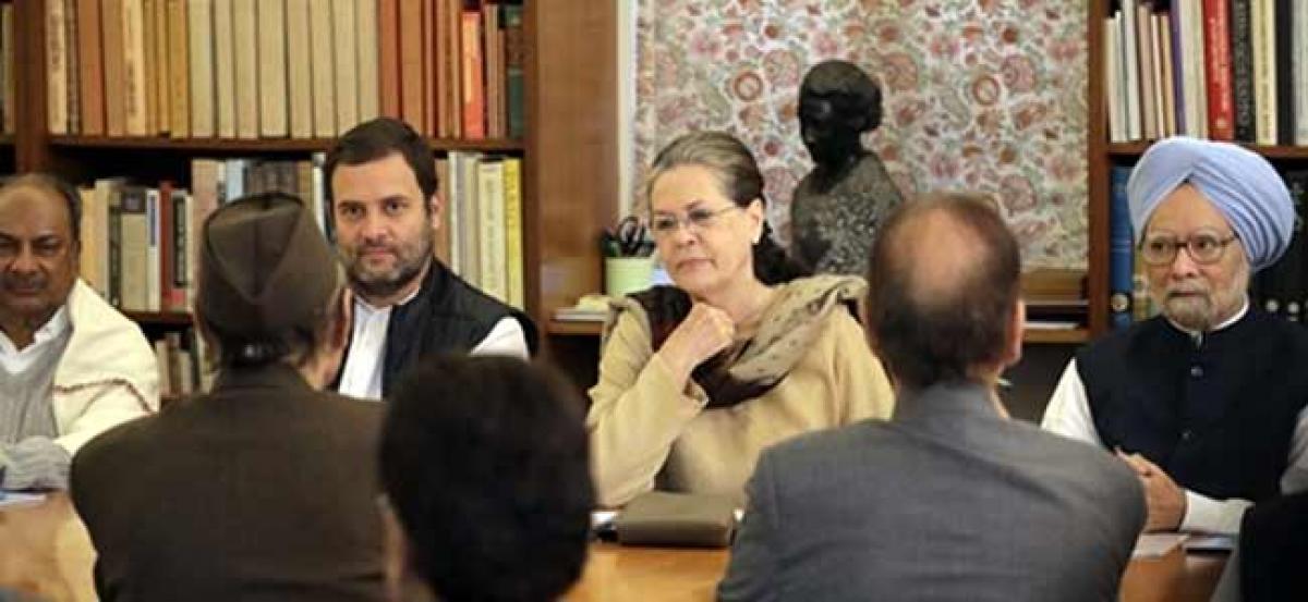 Congress declares roadmap for Rahul