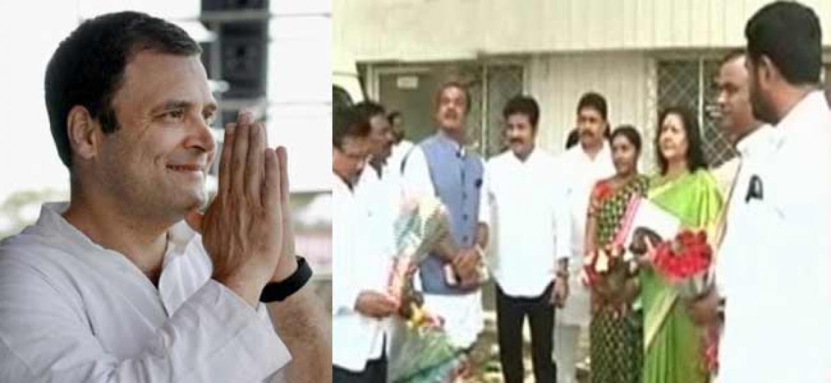 T-Congress leaders to meet Rahul Gandhi today