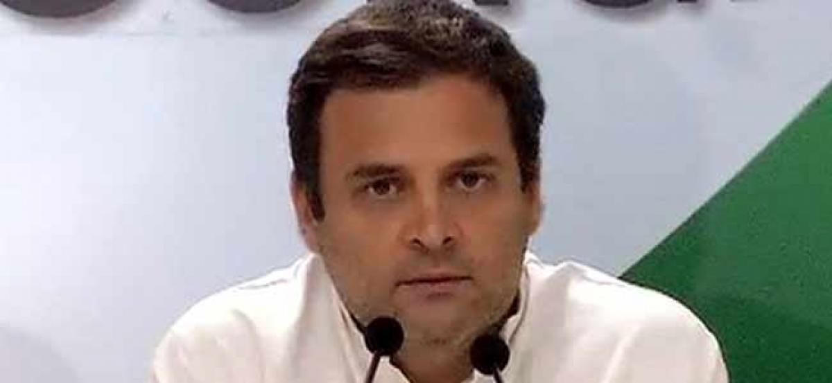 Rahul Gandhi condoles ex-union minister Bhishma Narain Singh