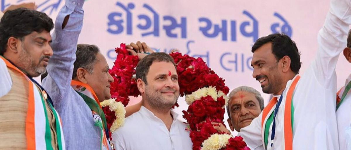 Rahul elected Congress president