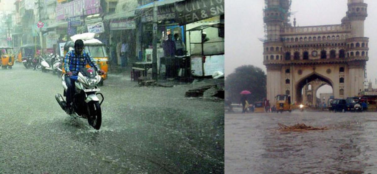 Hyderabad rains to continue
