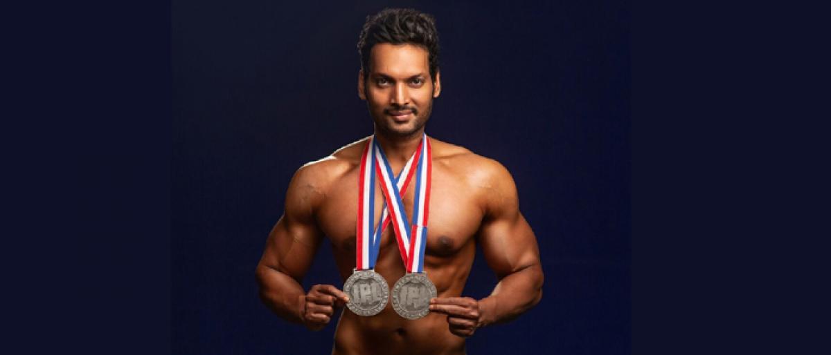 Hyderabad boy wins International Physique League