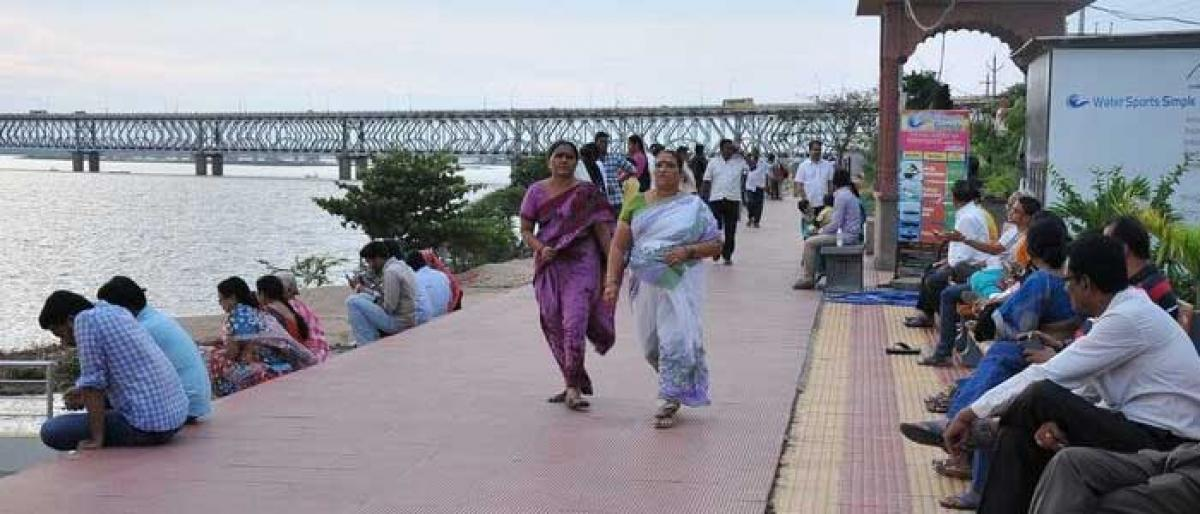 Walkers cry for walking paths
