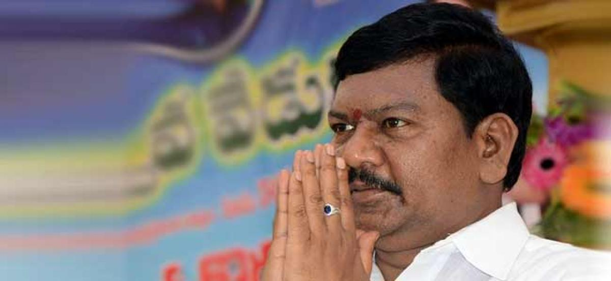 YSRCP MLA Threatens To Quit The Post