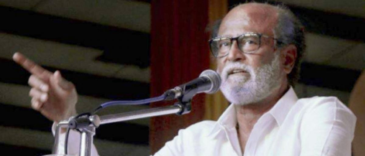 Rajinikanth slams ruling AIADMK for protests against Vijay-starrer 'Sarkar'