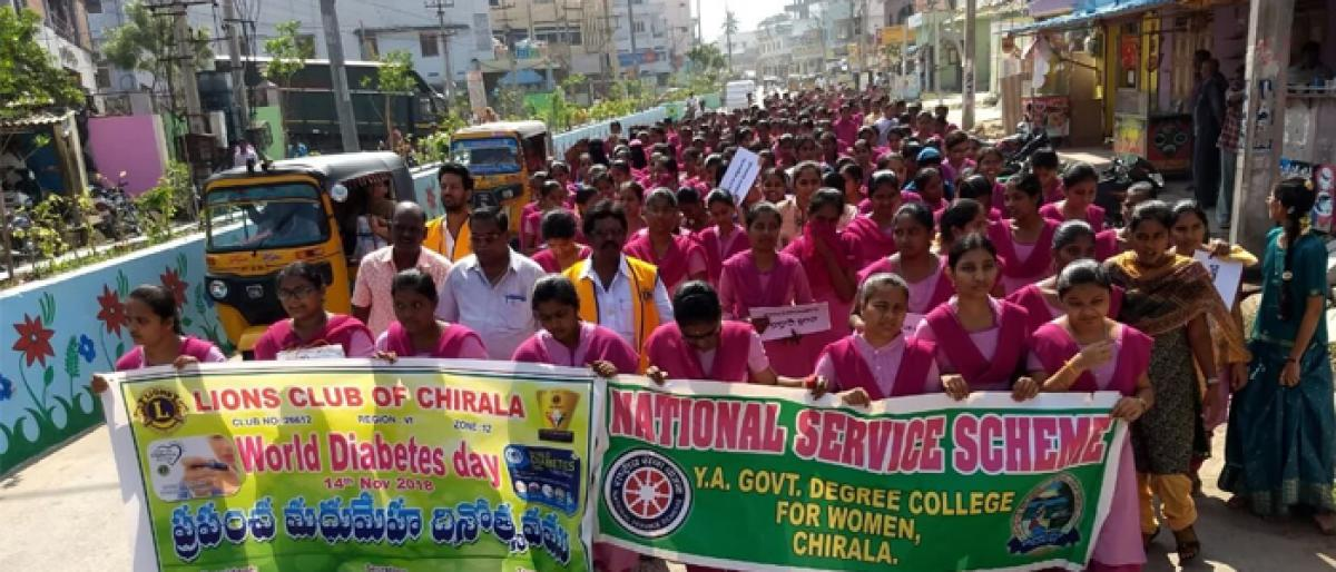 Rallies, awareness meets mark World Diabetes Day