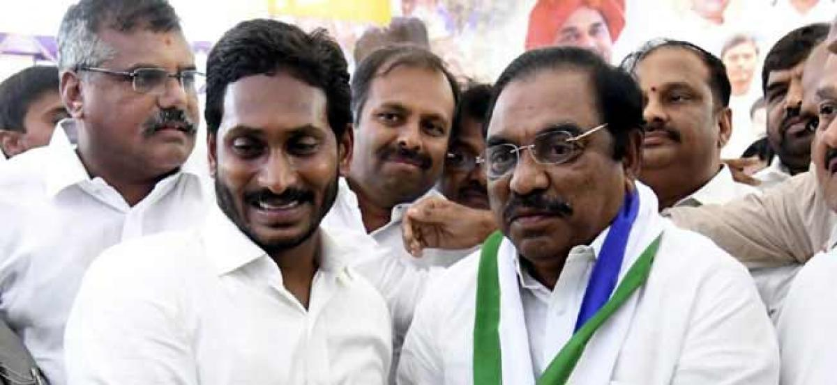 Congress Senior Leader Joins YSR Congress