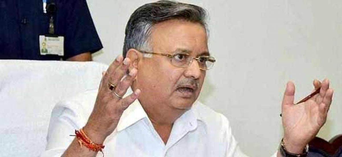 Raman Singh confident of record win in Chhattisgarh