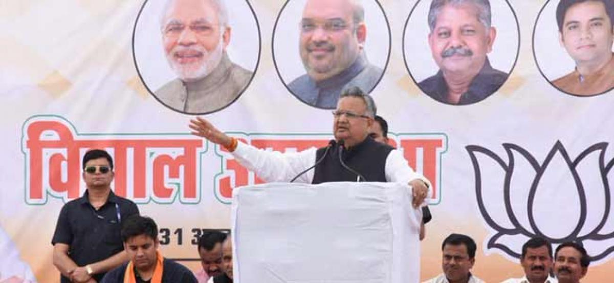 Chhattisgarh CM Raman Singh: There is a pro-incumbency wave in state