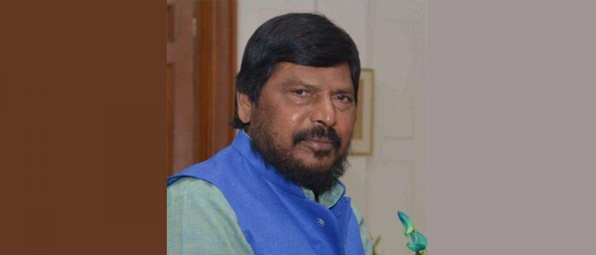Muslims should also come forward to protect cow: Union Minister Ramdas Athawale