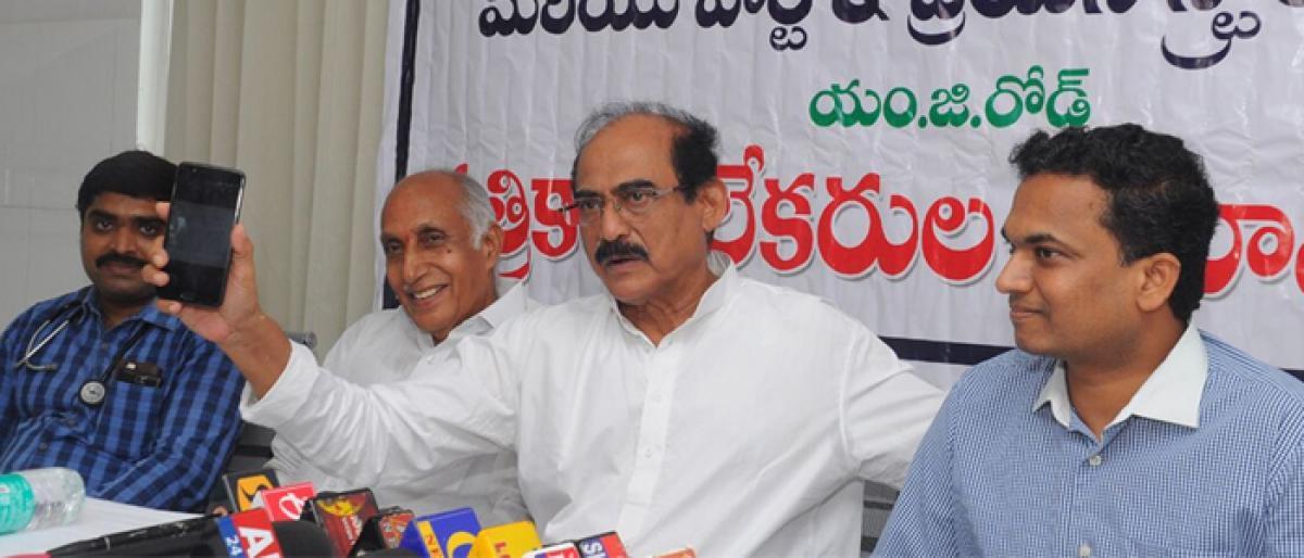 Treating a brain stroke on time: Ramesh Hospitals Vijayawada
