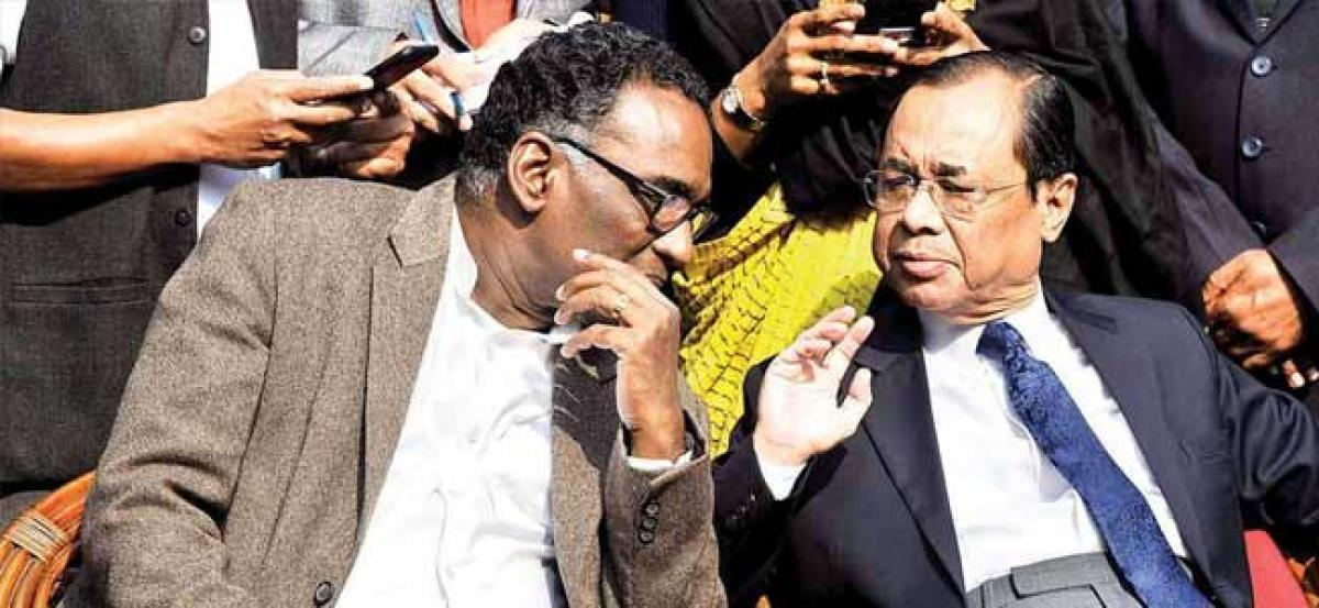 SC dismisses plea challenging Justice Gogois appointment as next CJI