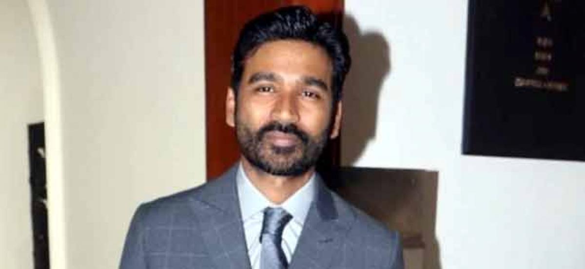 Im looking forward to direct Hindi films: Dhanush
