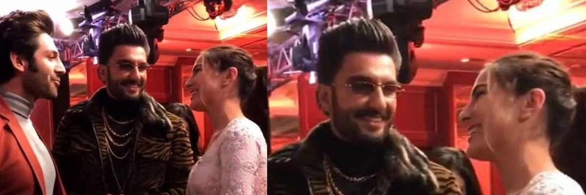 Ranveer Singh Talks About Being A Love Guru To Sara Ali Khan And Kartik Aaryan