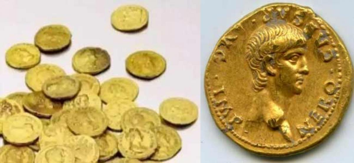 Rare coin belonging to the 14th century discovered near Palani