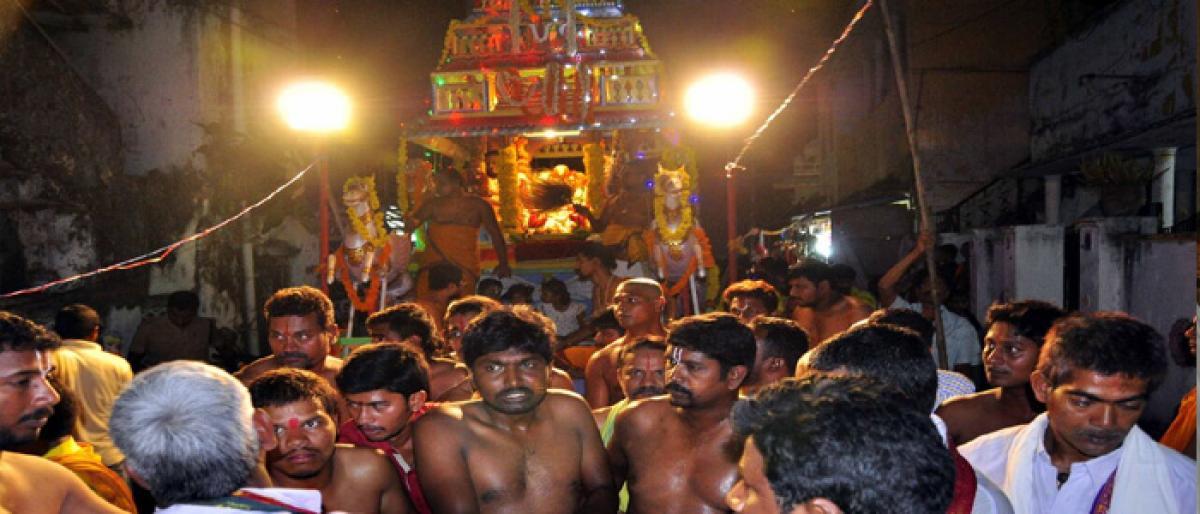 Ratha Yatra of Lord Rama held in Bhadrachalam