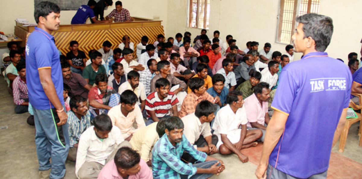 Task force team nabs 80 smugglers from Tamil Nadu