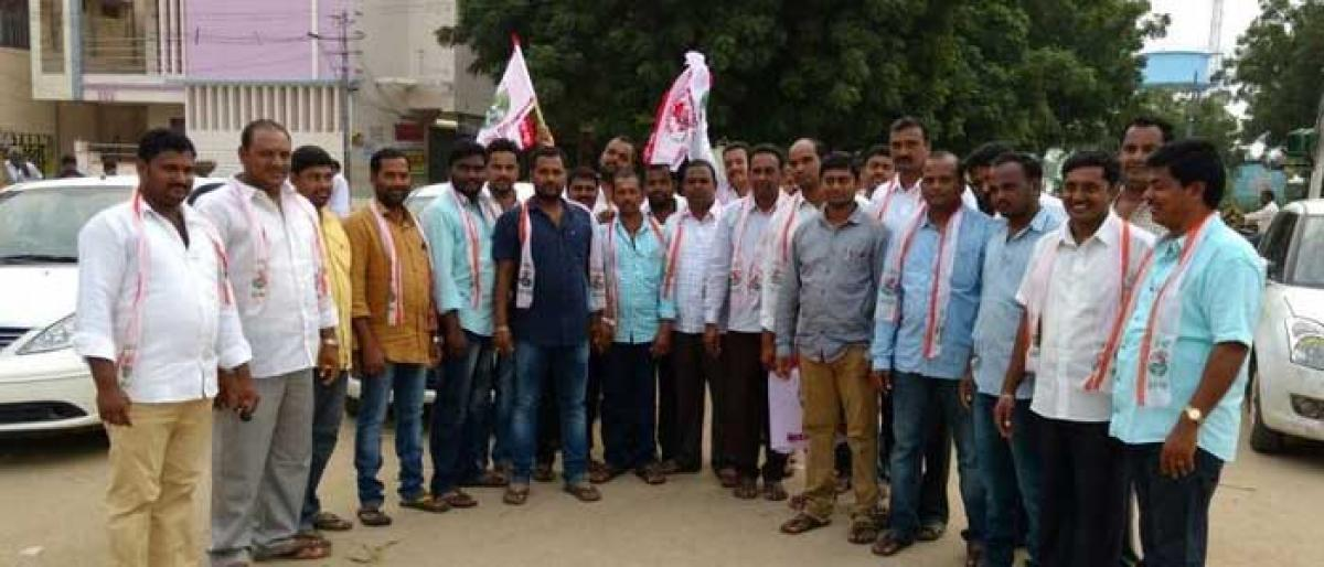 11-day padayatra of Reddys takes off