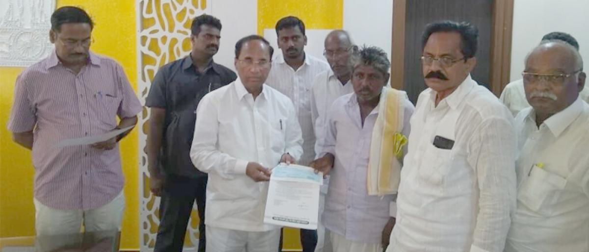 CM relief fund cheques distributed in Guntur