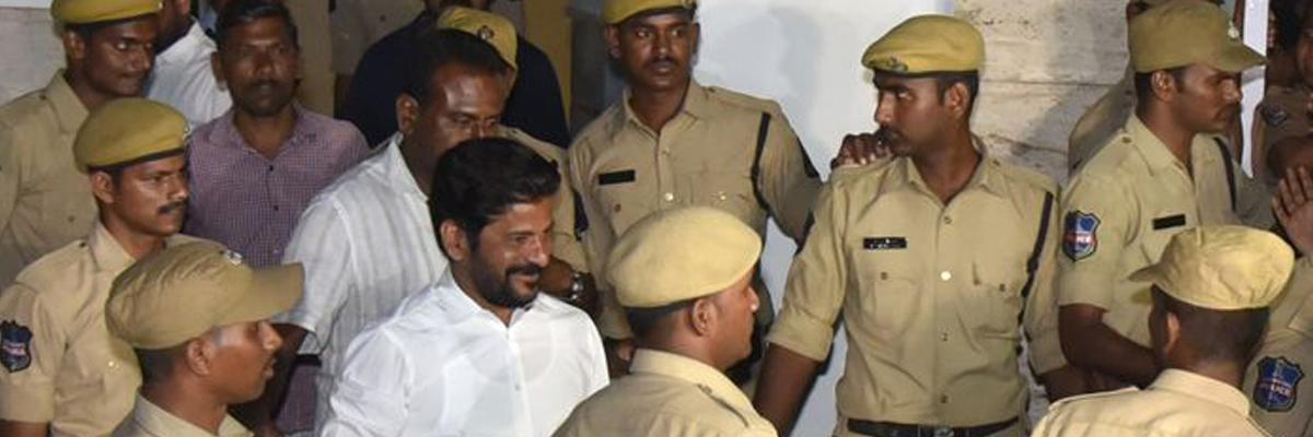 Telangana Assembly Elections 2018: Telangana police provide 4+4 security to Revanth Reddy