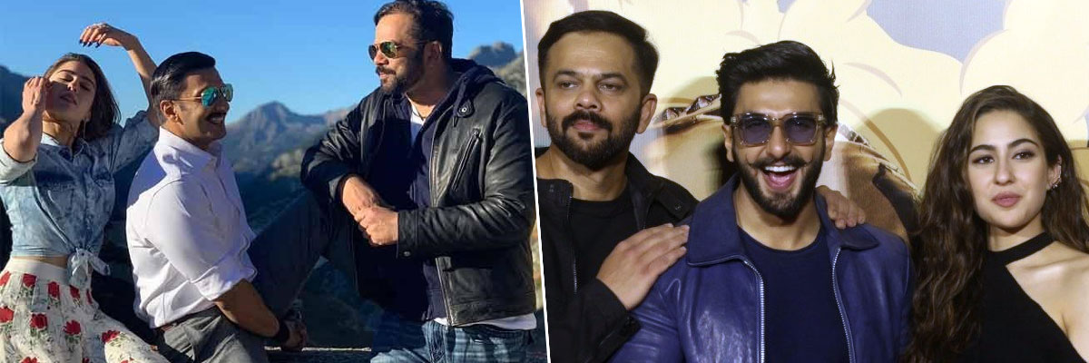 Rohit Shetty, Ranveer Singh And Sara Ali Khan Are Confident About Simmba