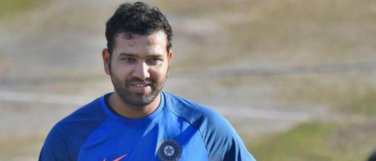 Great platform to test others in Dhonis absence: Rohit