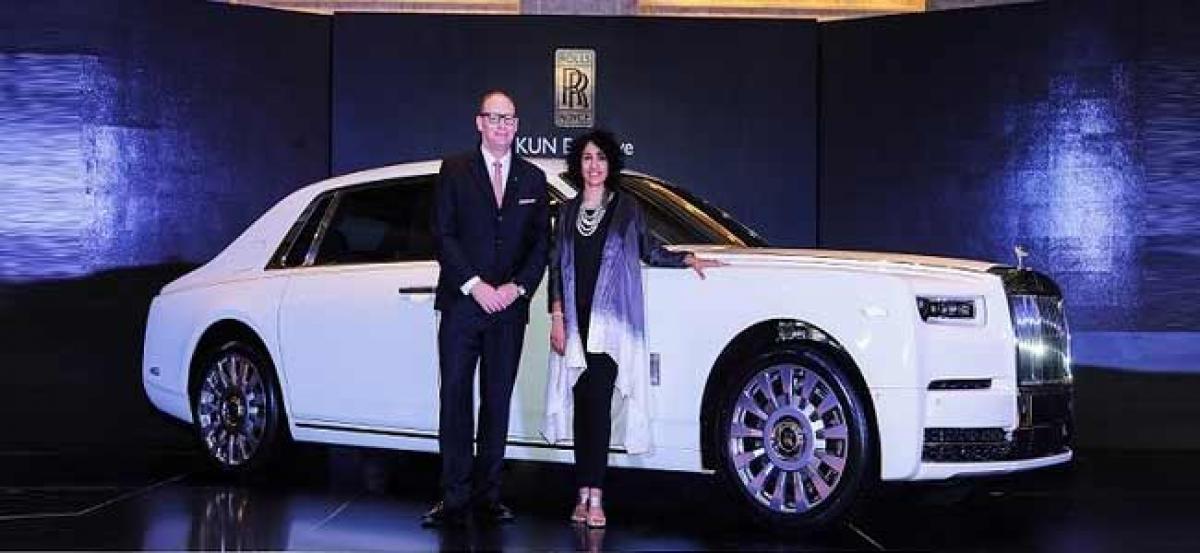 New Rolls-Royce Phantom debuts in South India
