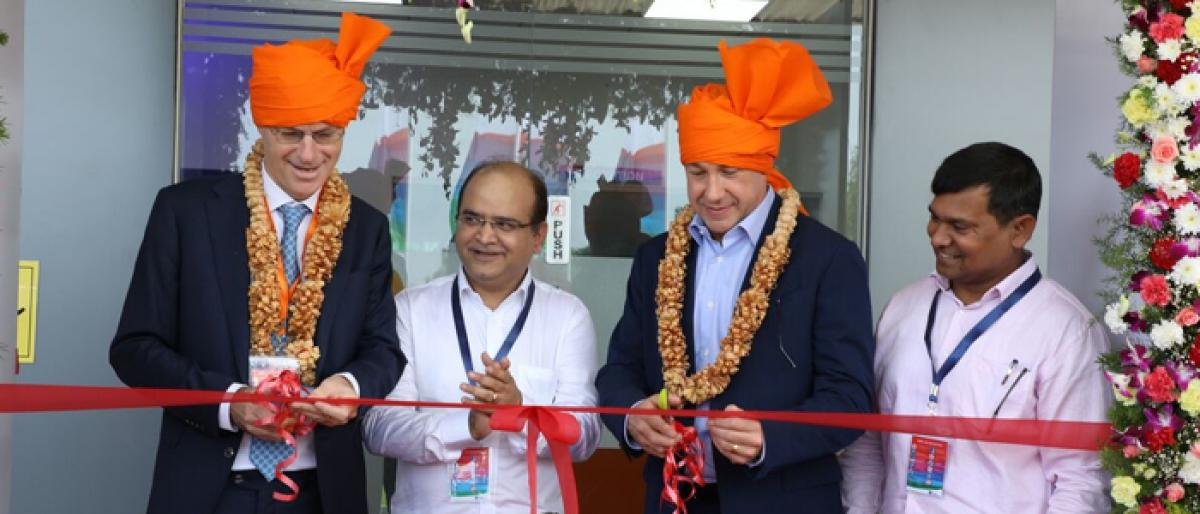 DSM opens animal feed plant in Telangana