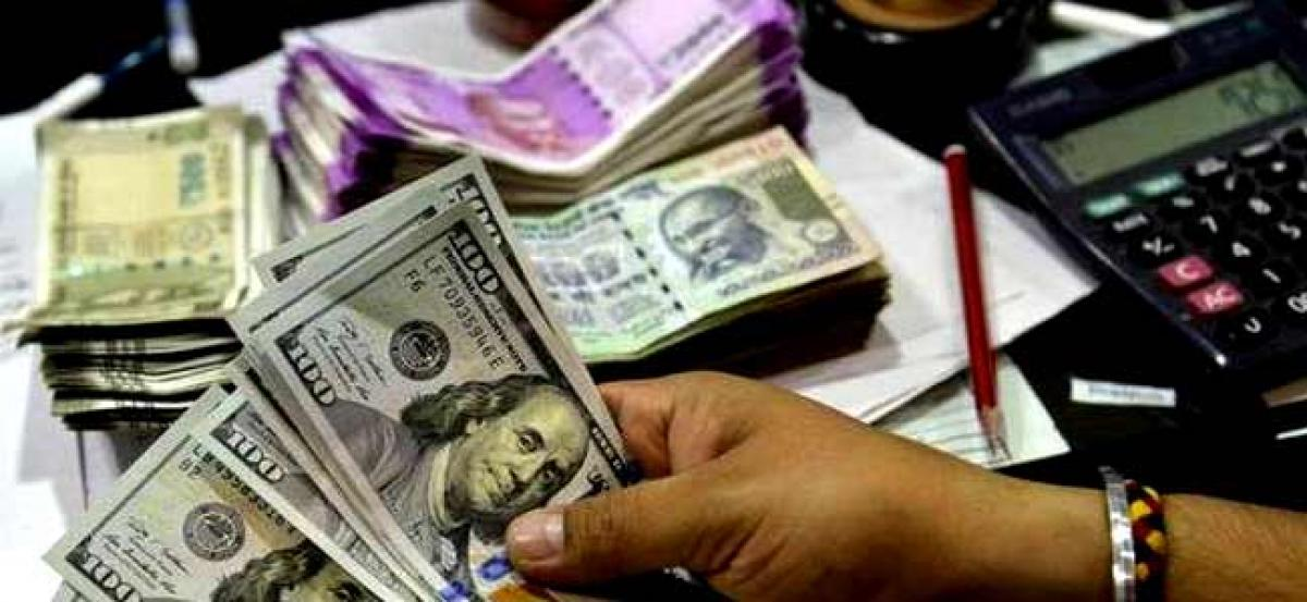 Rupee mounts to 32-mth high of 63.37 against dollar