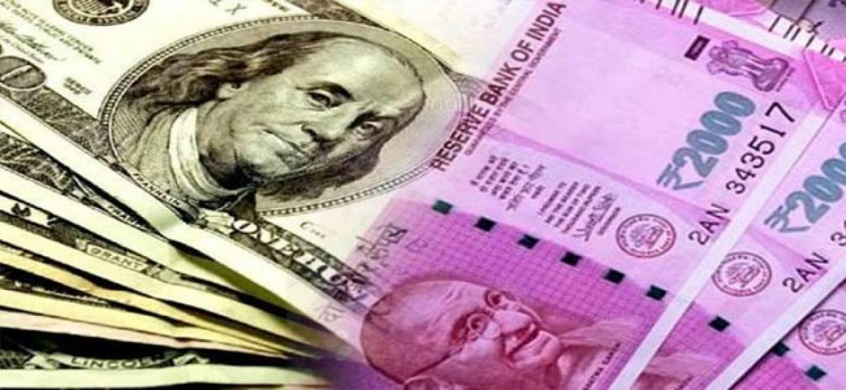 Rupee dives 17 paise against dollar in early trade