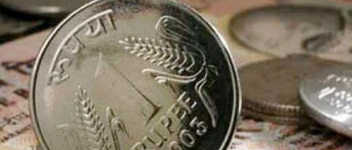 Rupee hits near 5-year low