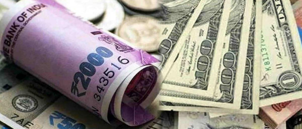 Rupee breaches Rs 73 against dollar