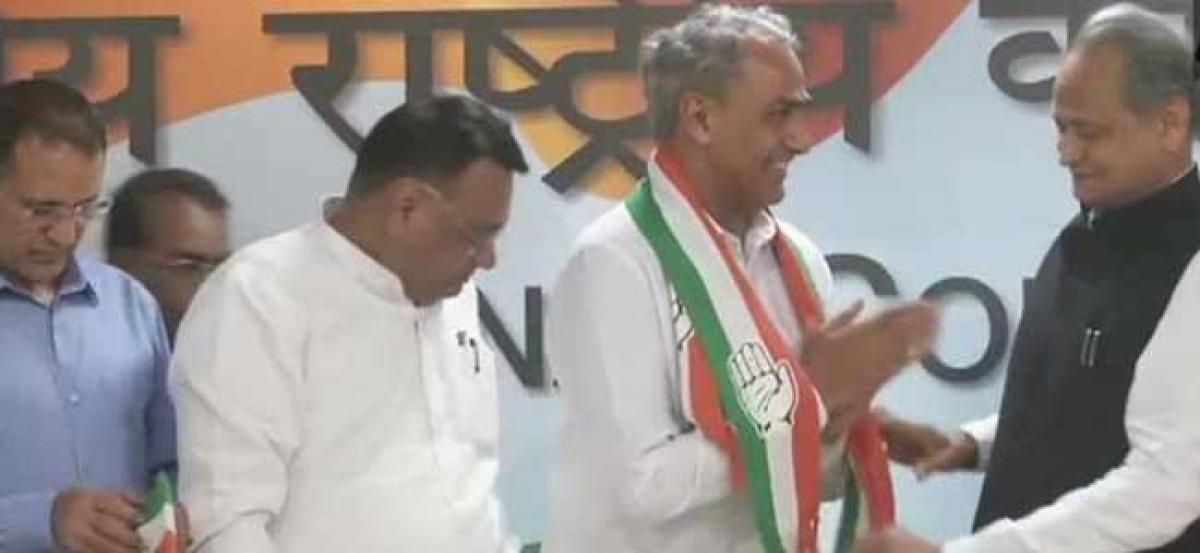 Sachin Pilot, Gehlot to contest Rajasthan Assembly polls; BJP MP joins Congress