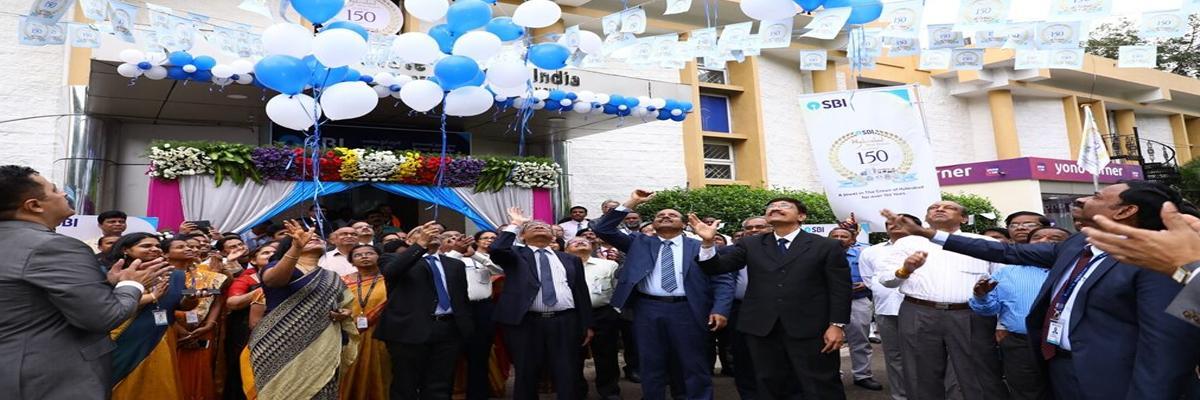 SBI branch celebrates 150th anniversary