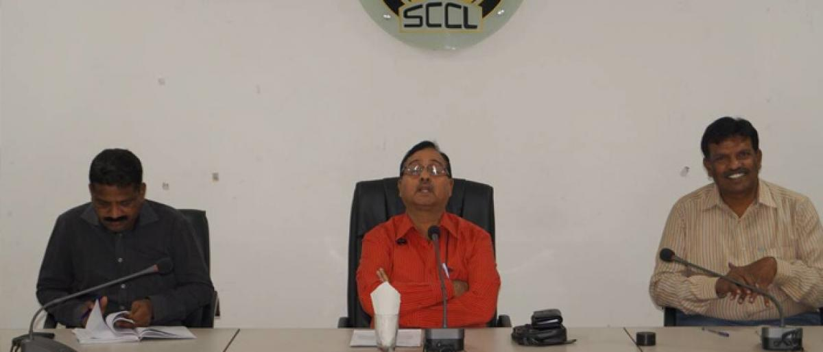 SCCL officials lauded for reaching target