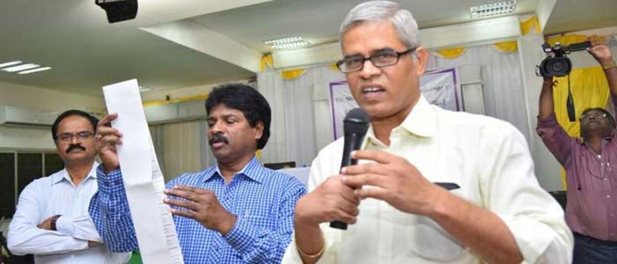 SCCL holds training camp on union elections in Kothagudem