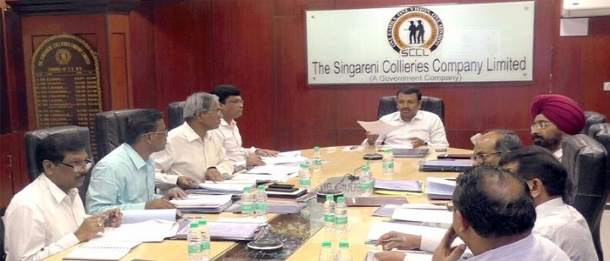 Singareni hikes compensation to 25 lakh
