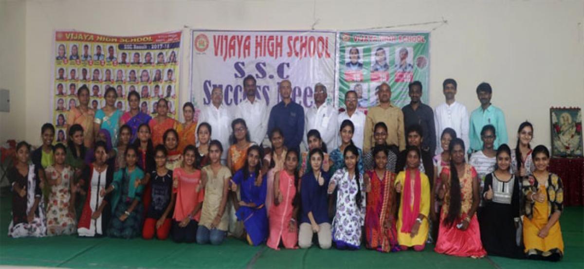 Vijaya High School holds 'success meet'