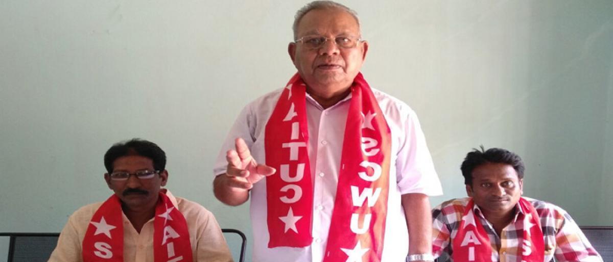 Clear arrears of retired employees: SCWU union