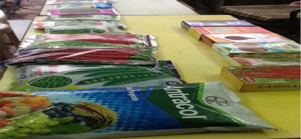 Criminal case filed against unauthorised seed dealer